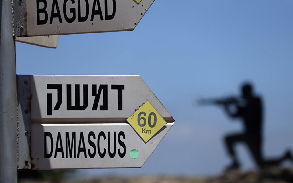 Israel and de-escalation zone in Syria