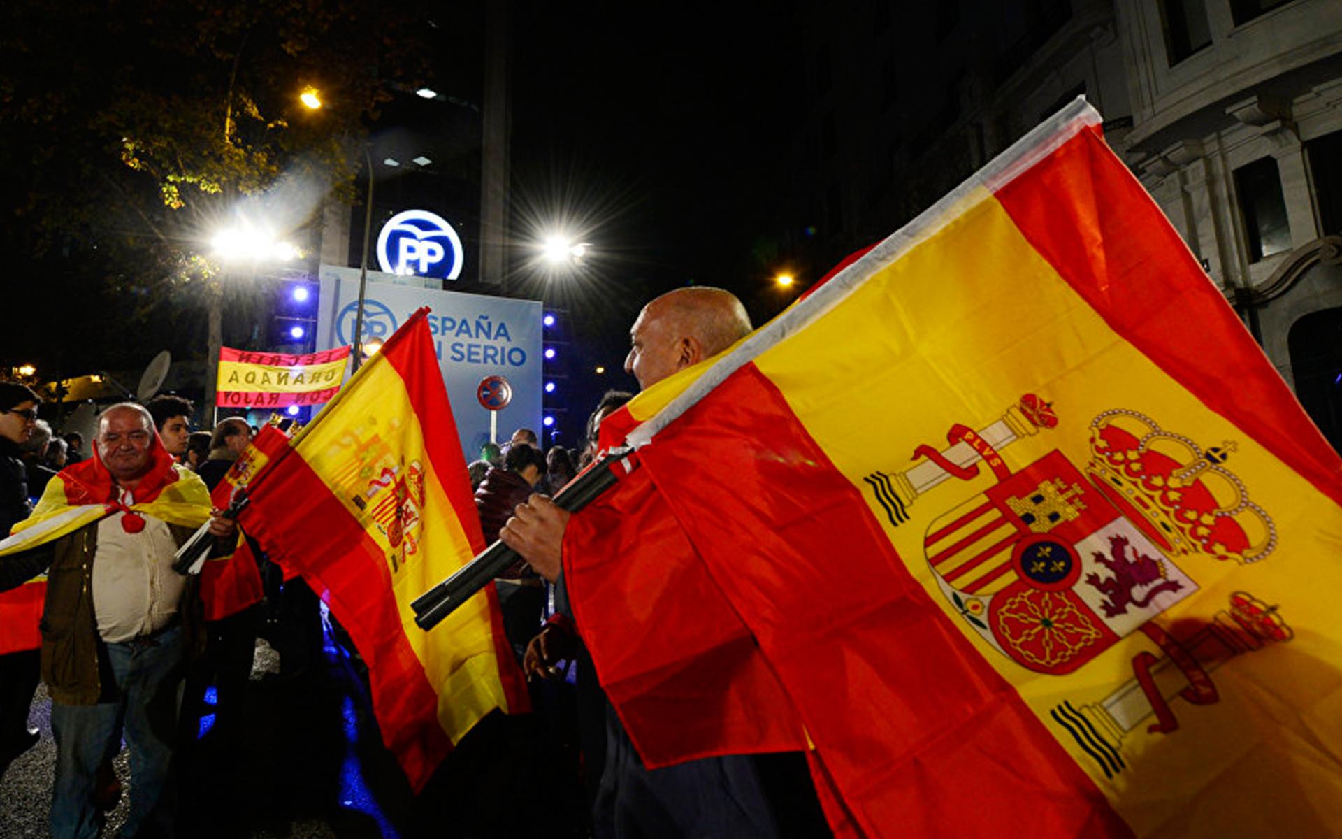 Результаты всеобщих выборов в Генеральные Кортесы (парламент) в Испании
